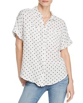 Splendid -  Star-Print Button-Down Shirt