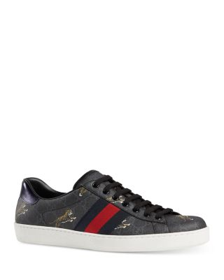 Ace GG Supreme Tiger Low-Top Sneakers