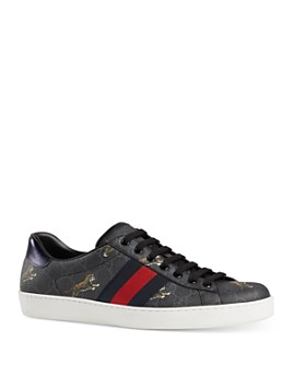 Gucci - Men's Ace GG Supreme Tiger Low-Top Sneakers