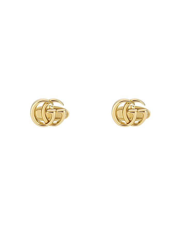 Gucci - 18K Yellow Gold Running G Cufflinks