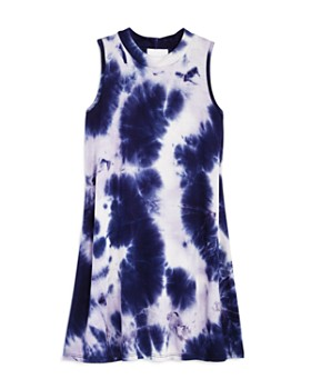 AQUA - Girls' Tie-Dyed Swing Dress, Big Kid - 100% Exclusive