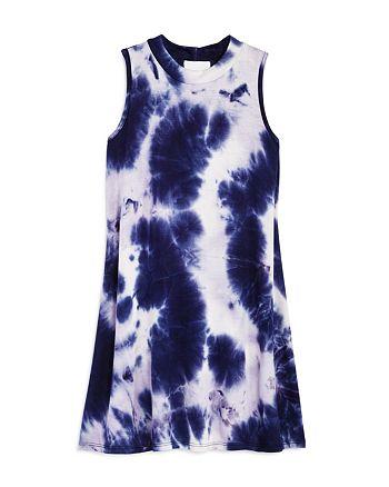 AQUA - Girls' Tie-Dyed Swing Dress, Big Kid - 100% Exclusive