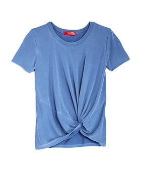 AQUA - Girls' Twist Front Tee, Big Kid - 100% Exclusive