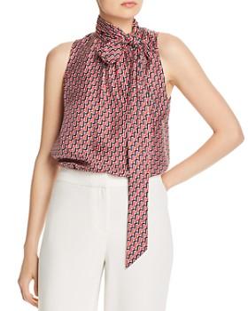 Joie - Pascale Tie-Neck Silk Top
