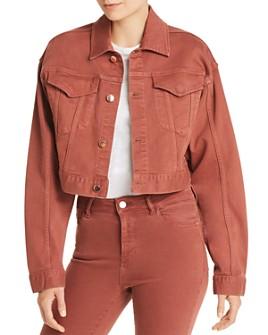 DL1961 - DL1961 x Marianna Hewitt Annie Oversized Crop Jacket