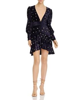 Rococo Sand - Velvet Sequin Mini Dress