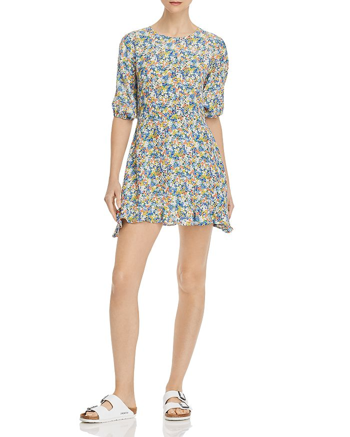 Faithfull the Brand - Jeannette Floral-Print Mini Dress