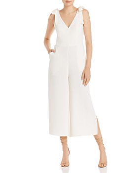 Amanda Uprichard - Iris Cropped Wide-Leg Jumpsuit