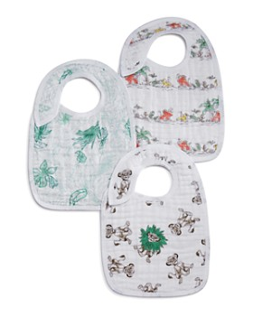 Aden and Anais - x Disney Lion King Snap Bibs, 3 Pack