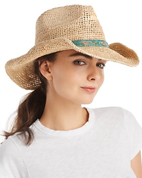 Ale by Alessandra - Renegade Raffia Western Hat