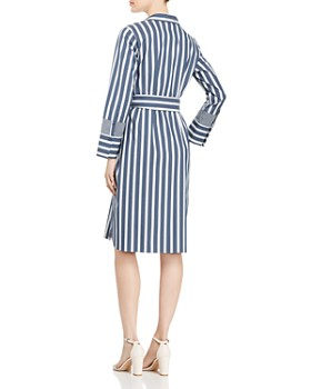 Lafayette 148 New York - Fabiola Striped Shirt Dress