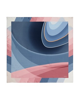 Lafayette 148 New York - Roden Rounds Silk Scarf