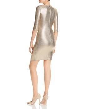 Alice and Olivia - Delora Metallic Dress