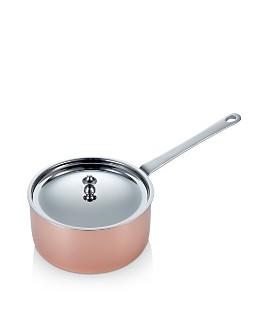 Scanpan - Maître D' Copper 1.6 qt. Sauce Pan with Lid