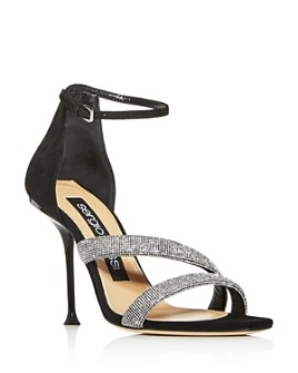 Sergio Rossi - Women's Milano Embellished High-Heel Sandals
