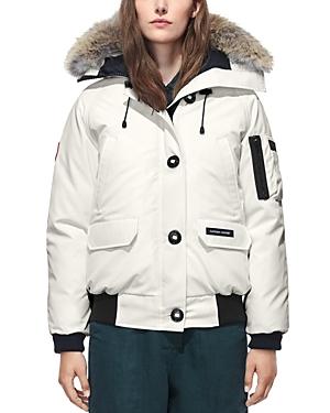 Canada Goose Chilliwack Fur Trim Bomber Jacket-Women