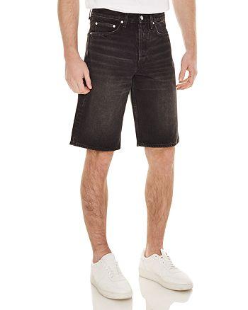 Sandro - Denim Shorts in Black