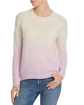 AQUA - Dip-Dye Cashmere Sweater - 100% Exclusive