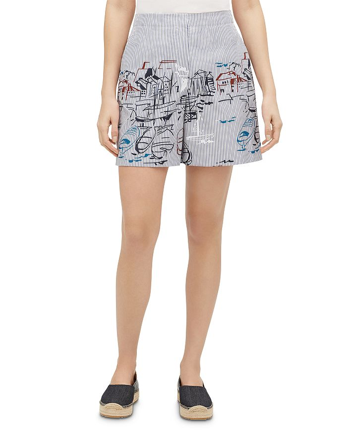 Lafayette 148 New York - Ryerson Printed Shorts