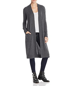 AQUA - Cashmere Duster Cardigan - 100% Exclusive