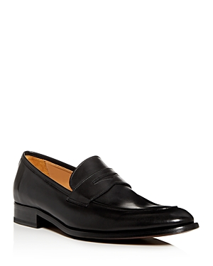 To Boot New York Loafers MEN'S DEARBORN APRON-TOE LEATHER PENNY LOAFERS