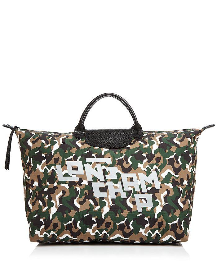 Longchamp - Camouflage Travel Bag