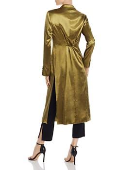 Cinq à Sept - Vicky Satin Long Coat