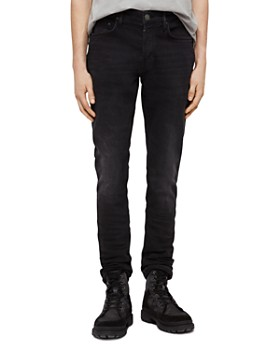 ALLSAINTS - Rex Slim Fit Jeans in Dark Grey