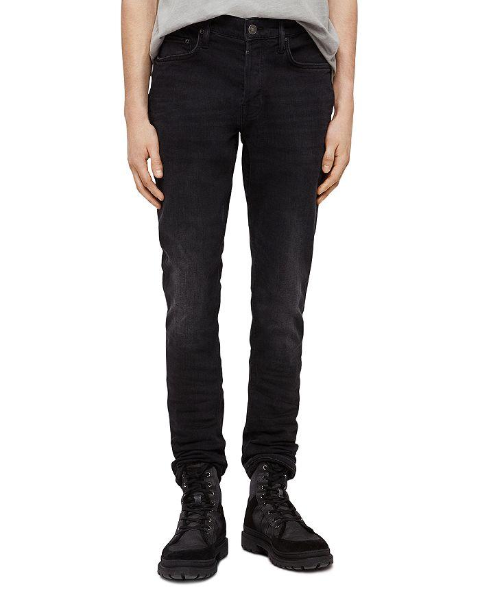 ALLSAINTS - Rex Slim Fit Jeans in Dark Grey