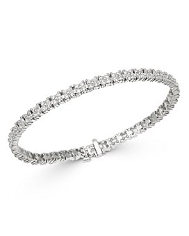 Bloomingdale's - Diamond Tennis Bracelet in 14K White Gold, 5.0 ct. t.w. - 100% Exclusive
