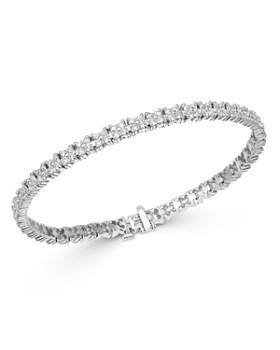 Bloomingdale's - Diamond Tennis Bracelet in 14K White Gold, 5.0 ct. t.w. - 100% Exclusive