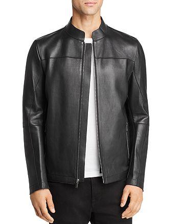 KARL LAGERFELD PARIS - Double-Faced Leather Jacket