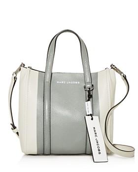 MARC JACOBS - The Tag Color-Block Leather Tote