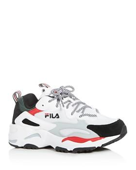 watch 50912 2678c FILA - Women s Ray Tracer Low-Top Sneakers ...
