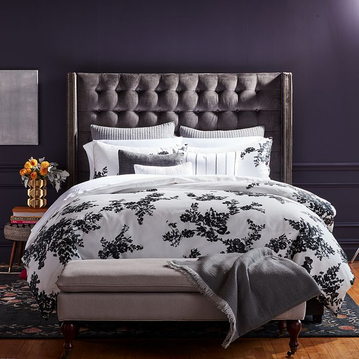 Vera Wang - Ink Botanical Sateen Bedding Collection