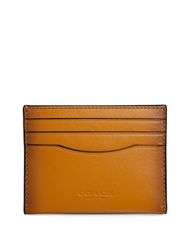 COACH - Boxed Leather Card Case