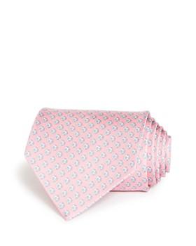 Salvatore Ferragamo -  Soccer Ball Print Silk Classic Tie