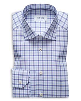 Eton - Bold Check Regular Fit Dress Shirt