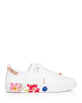 Ted Baker - Women's Roully Floral Low-Top Sneakers