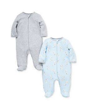 Little Me - Boys' Puppy Footies, 2 Pack - Baby