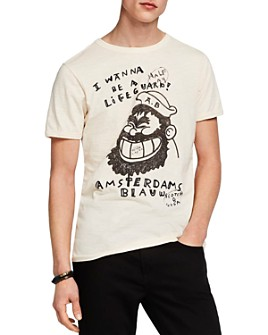 Scotch & Soda - Lifeguard Brutus Graphic Tee