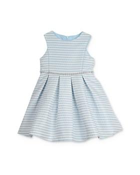 Pippa & Julie - Girls' Pleated Brocade Dress - Little Kid