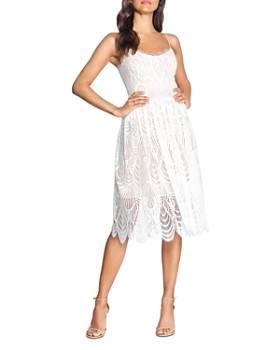 Dress the Population - Francesca Lace Dress