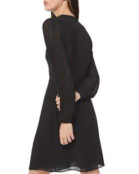 MICHAEL Michael Kors - Georgette Button-Down Shirtdress
