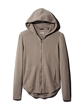 ATM Anthony Thomas Melillo - Zip-Front Hoodie