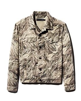 J Brand - Acamar Camouflage-Print Trucker Jacket - 100% Exclusive