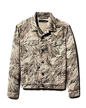 J Brand Acamar Camouflage-Print Trucker Jacket - 100% Exclusive