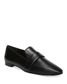 Via Spiga - Women's Adaline Square Toe Loafers