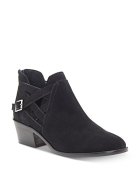 VINCE CAMUTO - Women's Pranika Perforated Booties