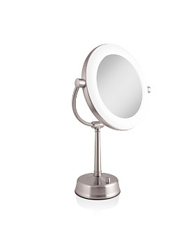 Zadro - Fluorescent Surrount Light™ Lighted Mirror with 1X/10X Magnification